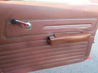 1976 Holden Kingswood HJ Red 3 Speed Automatic Sedan