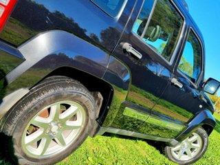 2010 Jeep Cherokee KK MY11 Limited Black 4 Speed Automatic Wagon