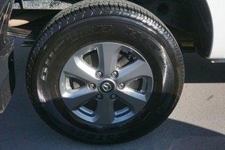 2019 Mazda BT-50 UR0YG1 XT 4x2 Hi-Rider White 6 Speed Sports Automatic Cab Chassis