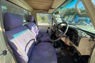 1990 Toyota Landcruiser 75 Series  Brown 5 Speed Manual Single Cab