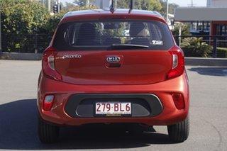 2021 Kia Picanto JA MY21 S Pop Orange 4 Speed Automatic Hatchback