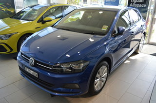 2021 Volkswagen Polo AW MY21 85TSI DSG Style Reef Blue Metallic 7 Speed Sports Automatic Dual Clutch.