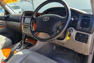 2003 Toyota Landcruiser UZJ100R Sahara Blue 5 Speed Automatic Wagon