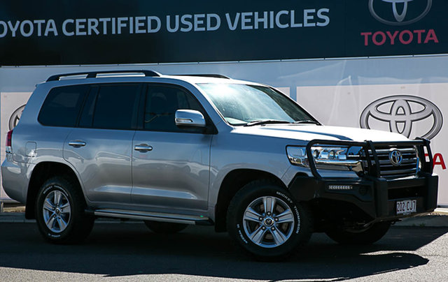 Pre-Owned Toyota Landcruiser VDJ200R MY16 GXL (4x4) Warwick, 2017 Toyota Landcruiser VDJ200R MY16 GXL (4x4) Silver Pearl 6 Speed Automatic Wagon