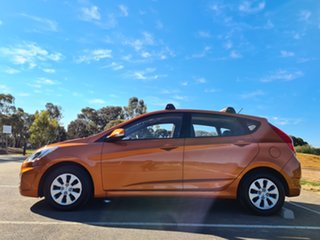 2014 Hyundai Accent RB2 MY15 Active Orange 4 Speed Sports Automatic Hatchback