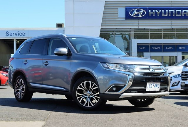 Used Mitsubishi Outlander ZK MY16 LS 4WD South Melbourne, 2016 Mitsubishi Outlander ZK MY16 LS 4WD Grey 6 Speed Constant Variable Wagon