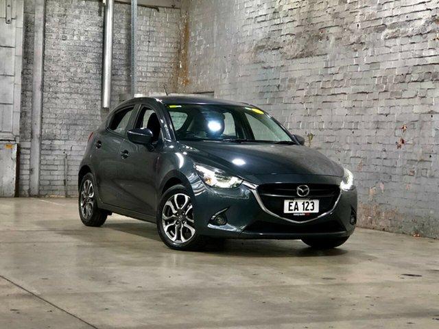 Used Mazda 2 DJ2HAA Genki SKYACTIV-Drive Mile End South, 2017 Mazda 2 DJ2HAA Genki SKYACTIV-Drive Grey 6 Speed Sports Automatic Hatchback