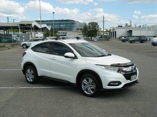 2018 Honda HR-V MY18 VTi-S White Continuous Variable Wagon.