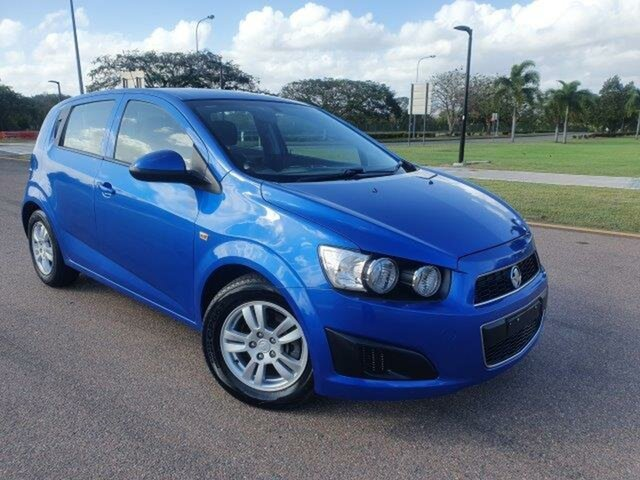 Used Holden Barina TM MY16 CD Townsville, 2016 Holden Barina TM MY16 CD Blue 6 Speed Automatic Hatchback
