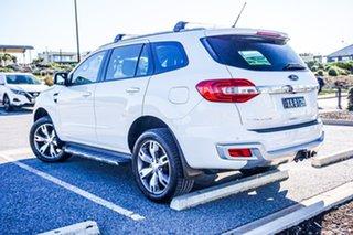 2015 Ford Everest UA Titanium White 6 Speed Sports Automatic SUV.