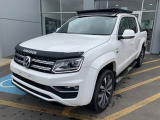 2018 Volkswagen Amarok 2H MY19 TDI580 4MOTION Perm Ultimate White 8 Speed Automatic Utility