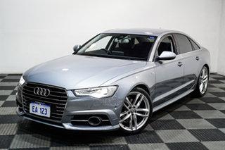 2017 Audi A6 4G MY18 S Tronic Silver 7 Speed Sports Automatic Dual Clutch Sedan.