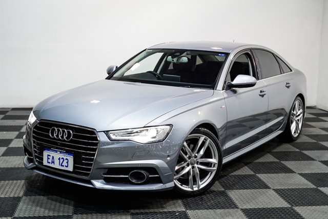 Used Audi A6 4G MY18 S Tronic Edgewater, 2017 Audi A6 4G MY18 S Tronic Silver 7 Speed Sports Automatic Dual Clutch Sedan