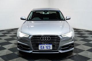 2017 Audi A6 4G MY18 S Tronic Silver 7 Speed Sports Automatic Dual Clutch Sedan