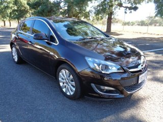 2013 Opel Astra AS Sport Black 6 Speed Sports Automatic Hatchback.