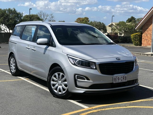 Used Kia Carnival YP MY20 S Chermside, 2019 Kia Carnival YP MY20 S Silver 8 Speed Sports Automatic Wagon