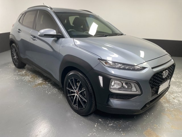 Used Hyundai Kona OS.2 MY19 Go 2WD Hamilton, 2019 Hyundai Kona OS.2 MY19 Go 2WD Silver 6 Speed Sports Automatic Wagon