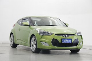2014 Hyundai Veloster FS3 + Coupe Green 6 Speed Manual Hatchback