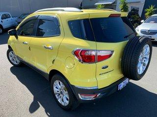 2014 Ford Ecosport BK Titanium Yellow 5 Speed Manual Wagon.