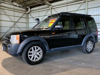 2008 Land Rover Discovery 3 Series 3 08MY SE Black 6 Speed Sports Automatic Wagon.