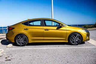 2018 Hyundai Elantra AD.2 MY19 Sport Premium Gold 6 Speed Manual Sedan.