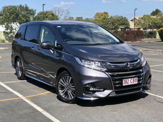Used Honda Odyssey RC MY20 VTi-L Chermside, 2020 Honda Odyssey RC MY20 VTi-L Grey 7 Speed Constant Variable Wagon