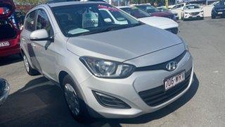 2015 Hyundai i20 PB MY16 Active Silver 4 Speed Automatic Hatchback.