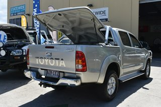 2009 Toyota Hilux GGN25R 09 Upgrade SR5 (4x4) Silver 5 Speed Automatic Dual Cab Pick-up