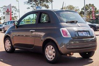 2014 Fiat 500 Series 1 Pop Dualogic Grey 5 Speed Sports Automatic Single Clutch Hatchback.