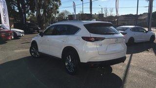 2019 Mazda CX-8 KG4W2A Asaki SKYACTIV-Drive i-ACTIV AWD White 6 Speed Sports Automatic Wagon.