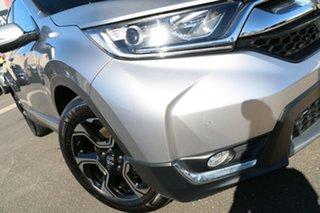 2018 Honda CR-V RW MY19 VTi-S 4WD Lunar Silver 1 Speed Constant Variable Wagon.