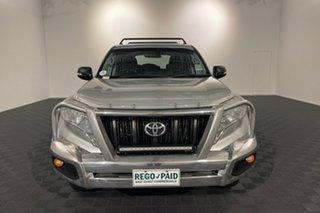 2016 Toyota Landcruiser Prado GDJ150R GX Silver 6 speed Manual Wagon.