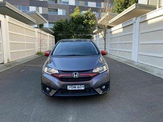 2015 Honda Jazz GF MY15 VTi-S Grey 1 Speed Constant Variable Hatchback.
