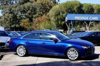 2016 Audi A4 B9 8W MY17 Sport S Tronic Quattro Scuba Blue 7 Speed Sports Automatic Dual Clutch Sedan.