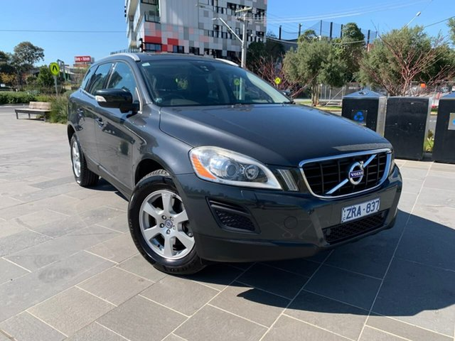 Used Volvo XC60 DZ MY12 D5 Geartronic AWD South Melbourne, 2012 Volvo XC60 DZ MY12 D5 Geartronic AWD Black 6 Speed Sports Automatic Wagon