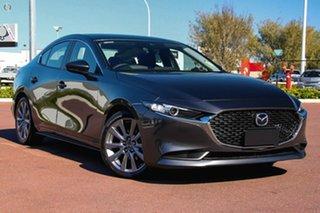 2021 Mazda 3 BP2SLA G25 SKYACTIV-Drive Evolve Grey 6 Speed Sports Automatic Sedan.