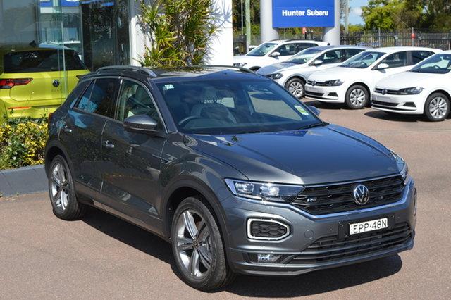 Demo Volkswagen T-ROC A1 MY21 140TSI DSG 4MOTION Sport Maitland, 2021 Volkswagen T-ROC A1 MY21 140TSI DSG 4MOTION Sport Indium Grey 7 Speed