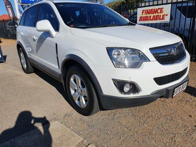 Used Holden Captiva CG MY15 5 AWD LT Morphett Vale, 2015 Holden Captiva CG MY15 5 AWD LT White 6 Speed Sports Automatic Wagon