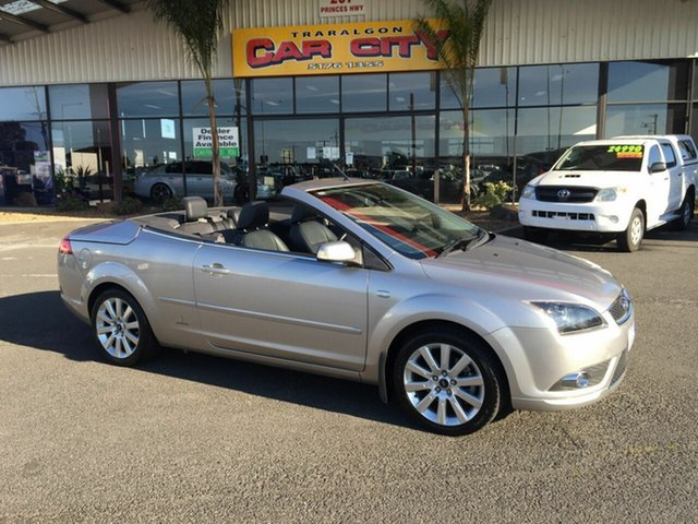 Used Ford Focus LT Coupe-Cabriolet Traralgon, 2007 Ford Focus LT Coupe-Cabriolet Silver 5 Speed Manual Cabriolet