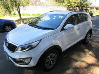 2014 Kia Sportage SL MY14 Si 2WD Premium White 6 Speed Sports Automatic Wagon