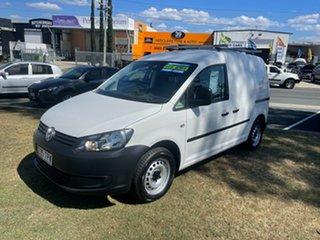 2013 Volkswagen Caddy 2K MY13 TDI250 Maxi DSG Comfortline White 7 Speed Sports Automatic Dual Clutch.
