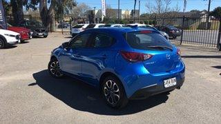2017 Mazda 2 DJ2HAA Genki SKYACTIV-Drive Blue 6 Speed Sports Automatic Hatchback.