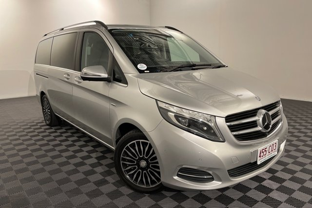 Used Mercedes-Benz V-Class 447 V250 d 7G-Tronic + Avantgarde Acacia Ridge, 2017 Mercedes-Benz V-Class 447 V250 d 7G-Tronic + Avantgarde Silver 7 speed Automatic Wagon