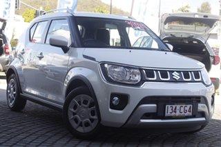 2021 Suzuki Ignis MF Series II GL Pure White Pearl 1 Speed Constant Variable Hatchback.