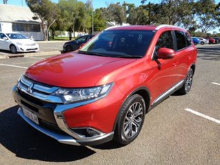 2015 Mitsubishi Outlander ZK MY16 XLS 2WD Red 6 Speed Constant Variable Wagon