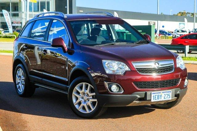 Used Holden Captiva CG Series II MY12 5 Rockingham, 2012 Holden Captiva CG Series II MY12 5 Red 6 Speed Manual Wagon