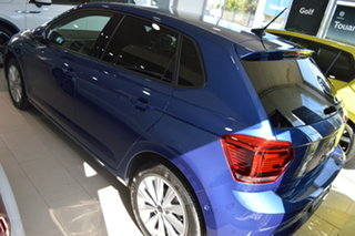 2021 Volkswagen Polo AW MY21 85TSI DSG Style Reef Blue Metallic 7 Speed Sports Automatic Dual Clutch