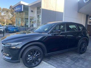 2021 Mazda CX-5 KF4WLA GT SKYACTIV-Drive i-ACTIV AWD SP Black 6 Speed Sports Automatic Wagon.
