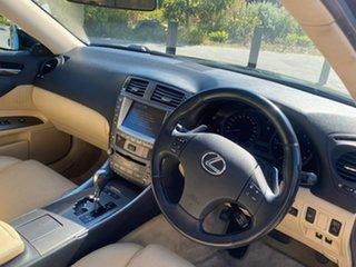 2008 Lexus IS GSE20R MY09 IS250 Prestige Black 6 Speed Sports Automatic Sedan.