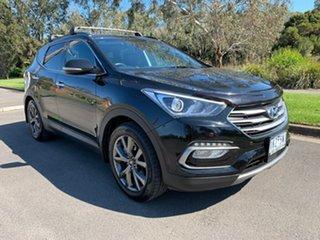 2017 Hyundai Santa Fe DM3 Series II Active X Black Sports Automatic Wagon.